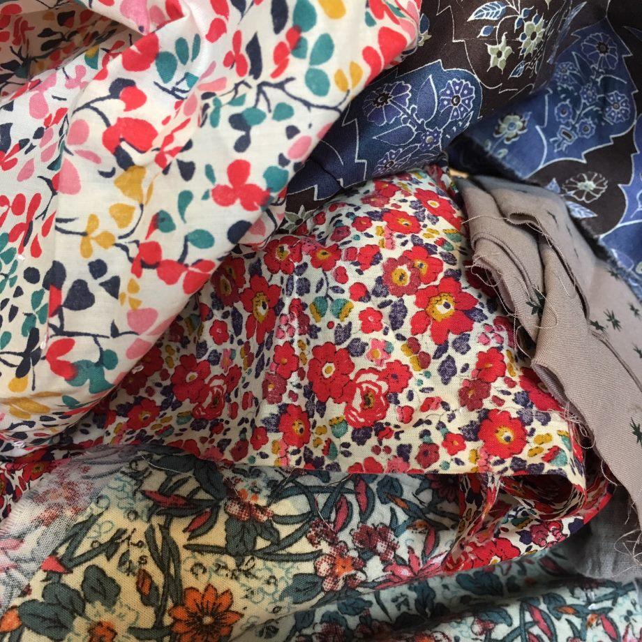 Tutoriel couture facile lingettes lavables Rue des Nuages
