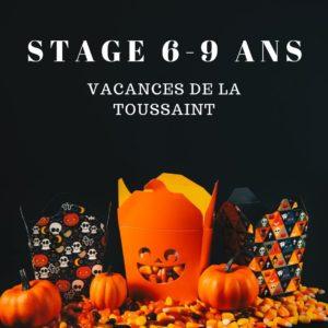 Stage ateliers créatifs pour enfants spécial Halloween