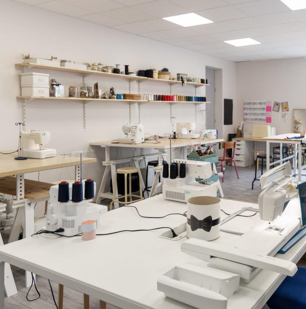 Atelier de couture Rue des nuages