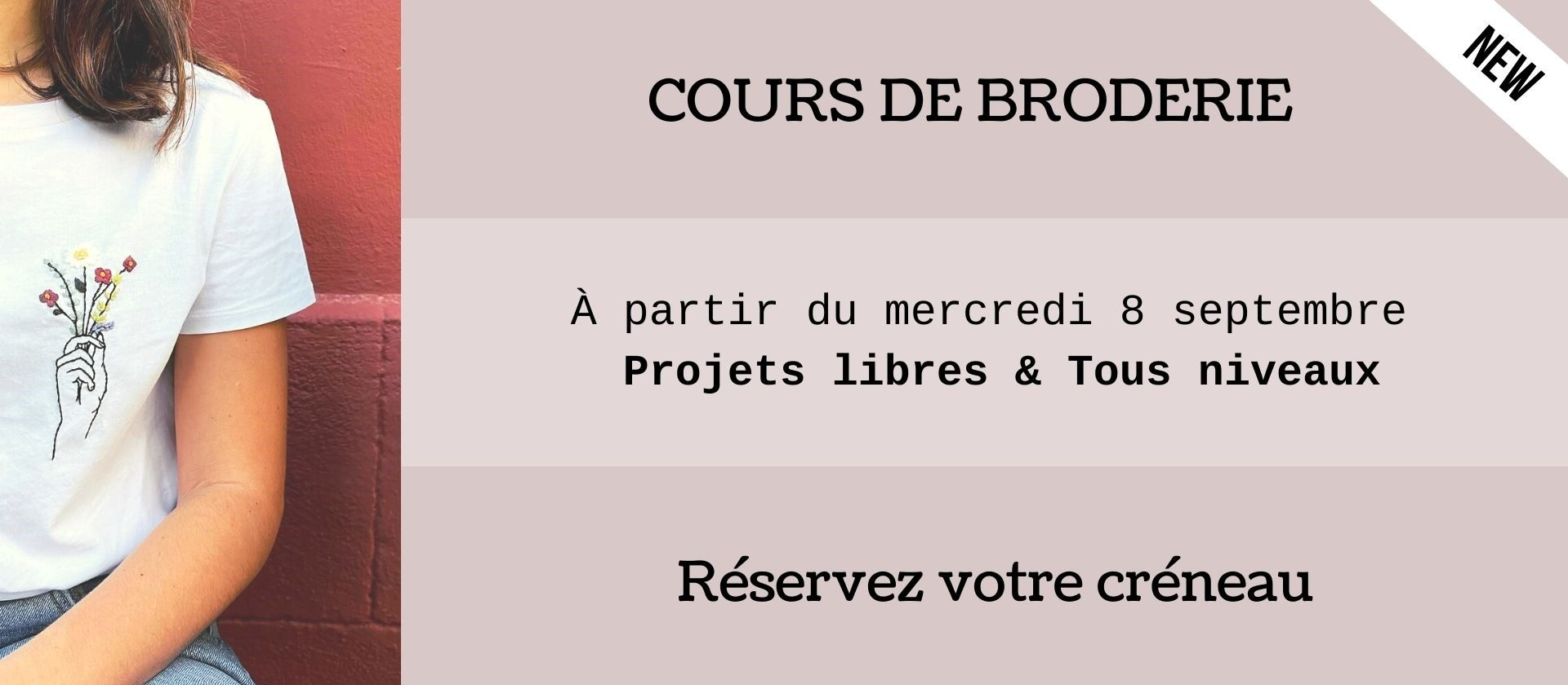 COURS DE BRODERIE